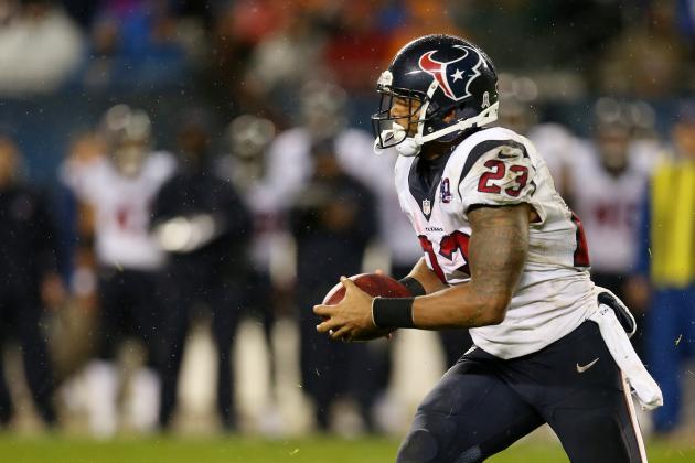 2012 Fantasy Football Running Back Rankings: Week 11