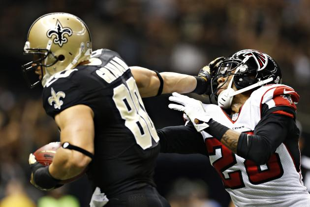 Saints Jimmy Graham and Falcons Tony Gonzalez Make NFL History