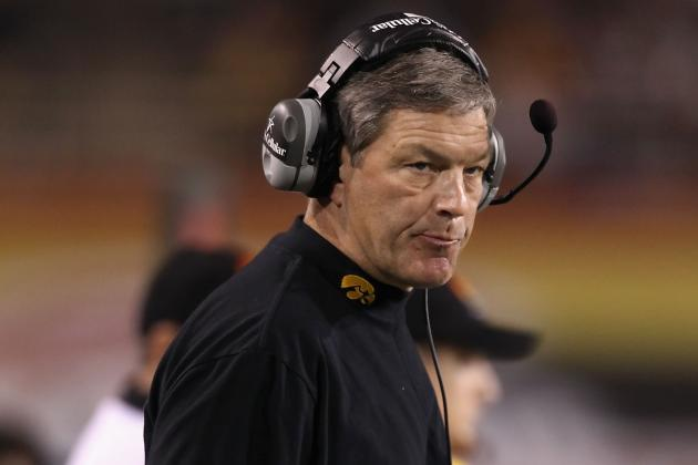 Iowa Football: Loss to Purdue Steams Kirk Ferentz
