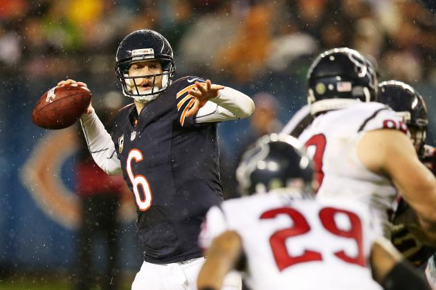 Jay Cutler: Fantasy Owners Should Avoid Bears QB Even If He's Cleared to Play