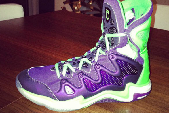 Brandon Jennings' Under Armour Shoes Are Crazy