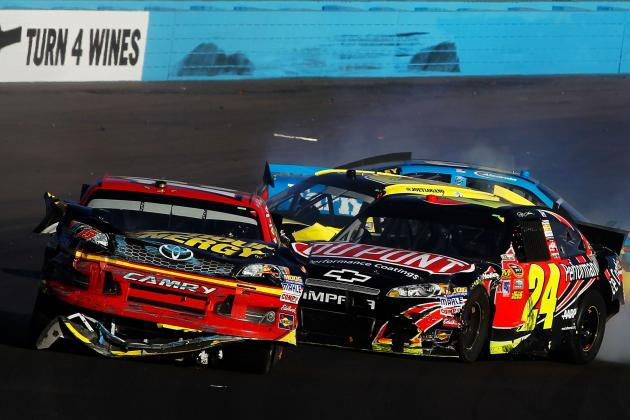 Jeff Gordon's Legacy Tarnished by His Actions on Sunday