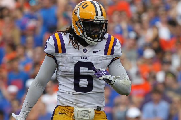 LSU Safety Craig Loston Named SEC Co-Defensive Player of the Week