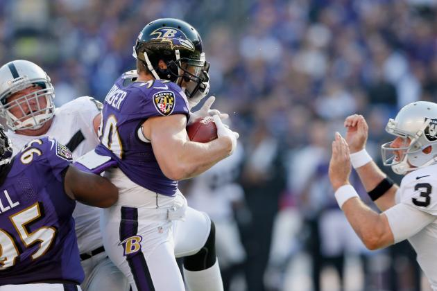 Ravens Capitalize On Tipped Passes