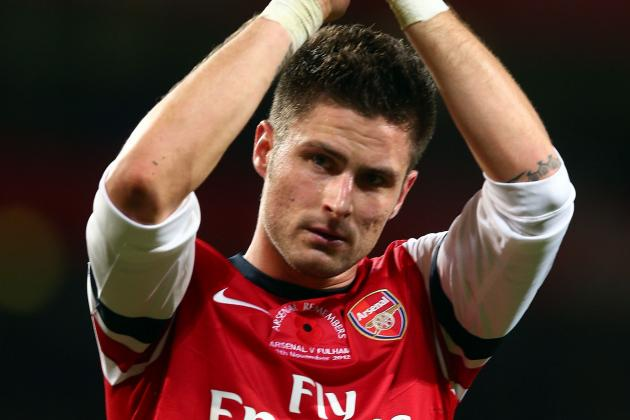 Olivier Giroud Fears Defensive Problems Could Derail Arsenal