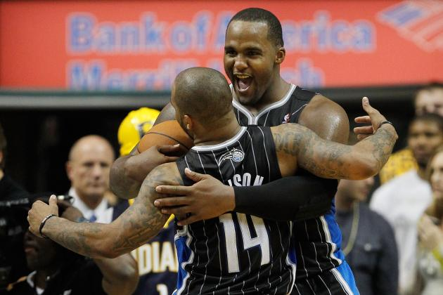 Jameer Nelson and Glen Davis are the Magic's captains this season