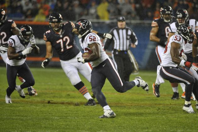 Texans' Dobbins: NFL Shouldn't Fine Me for Cutler Hit, He Ran in to Me
