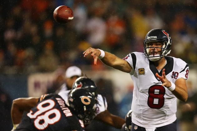 Tough Night, but Matt Schaub Happy with End Result