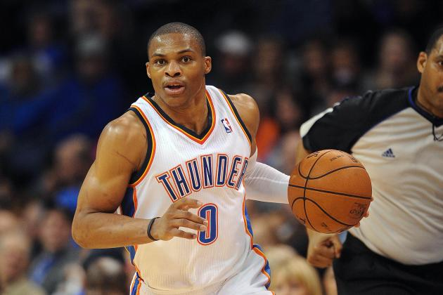 Russell Westbrook Scores 27 as Thunder Beats Cavaliers