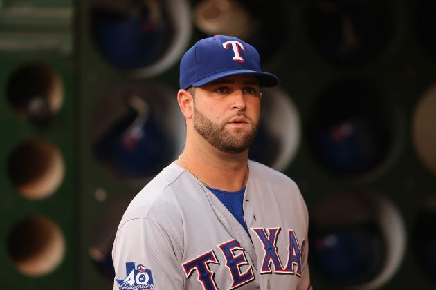 New York Yankees: Could Mike Napoli Be Plan B If Texas Snags Russell Martin Away