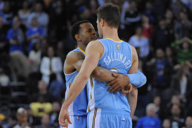 Gallinari Finds the Range in Nuggets' Amazing Win at Golden State