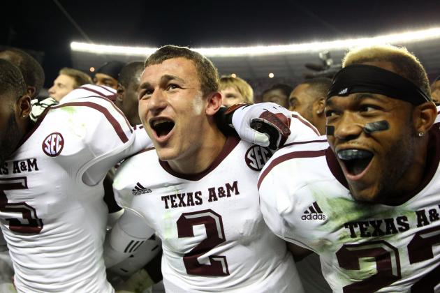Johnny Manziel and Texas A&M Hope to Trademark 'Johnny Football'