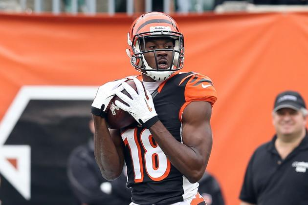 A.J. Green Backs Talk with Big Game Against Giants