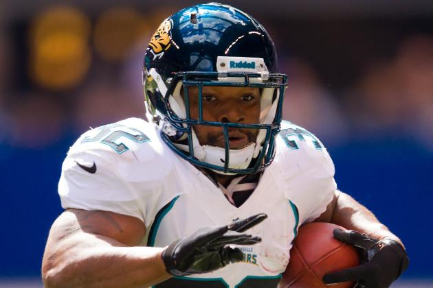 Jaguars RB Jones-Drew Ruled Out Again