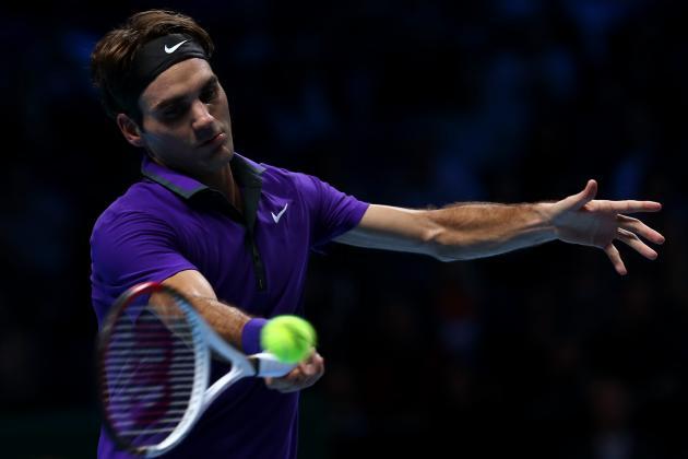Djokovic Beats Federer 7-6, 7-5 to Win ATP Finals