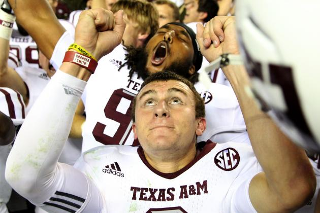 Manziel, Texas a Attempt to Trademark 'Johnny Football' Nickname