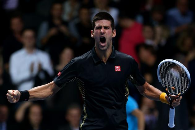 Novak Djokovic Beats Roger Federer to Win 2012 ATP World Tour Finals Title