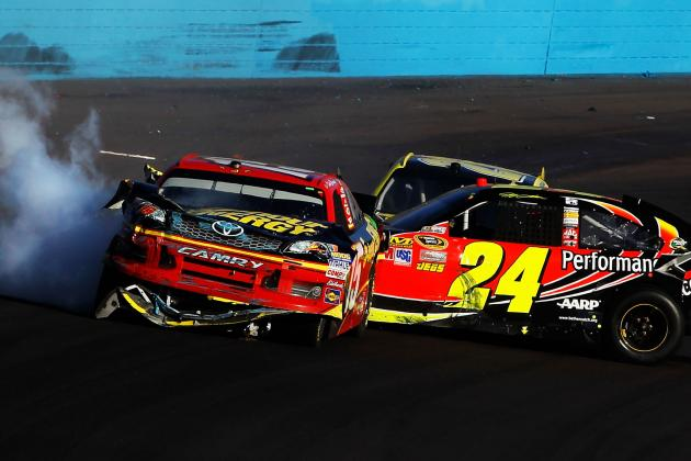 NASCAR Penalizes Gordon, Bowyer, Keselowski