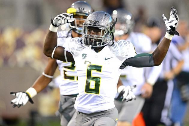 Oregon WR De'Anthony Thomas Reportedly a Possibility at Defensive Back for Ducks