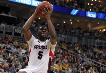 Gary Bell Jr. led Gonzaga to a win over West Virginia in their last meeting.  Can he do it again?
