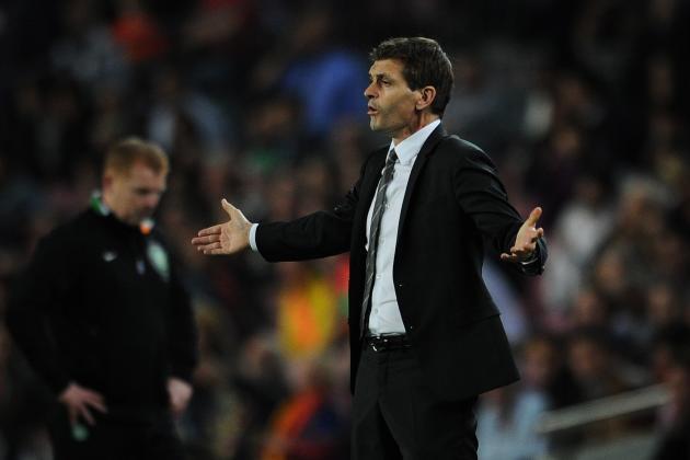 Tito Vilanovas' Barcelona : A Work in Progress