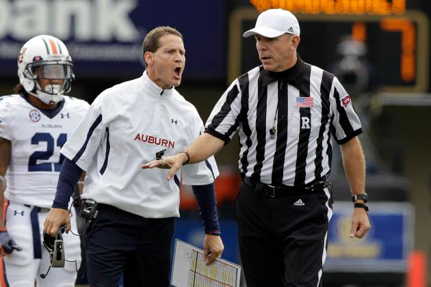 Auburn Football: 2013 Recruiting Class Shouldn't Be a Factor in Chizik's Fate