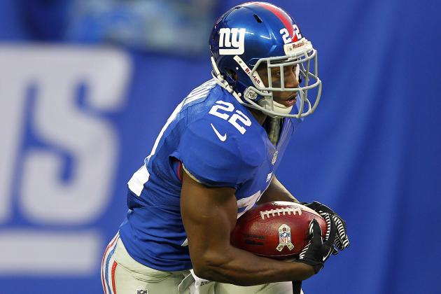 Giants RB Coach Says It Is Time for David Wilson to 'Grow Up and Be a Man'