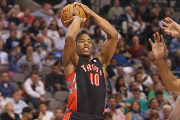 DeMar DeRozan Preparing to Dominate?