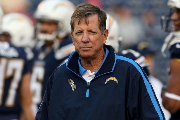 Updated Hot Seat Watch for Norv Turner After Awful Week 10 Loss