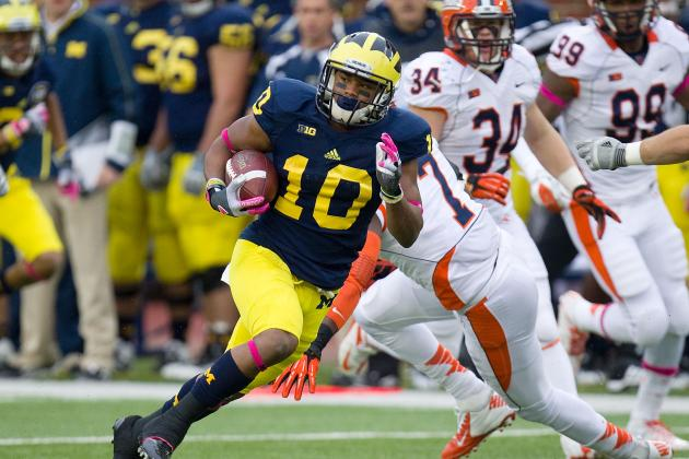 Jeremy Gallon: Why the Michigan Wolverines Need to Give Him the Ball