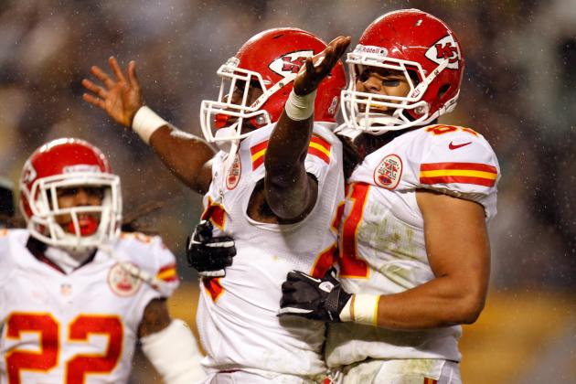 Kansas City Chiefs Running Back Jamaal Charles 12-Yd TD