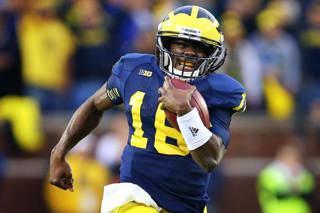 Michigan Football: Denard Robinson Will Always Be Remembered at Michigan Stadium