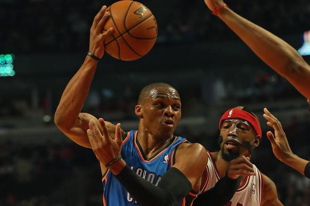 Oklahoma City Thunder Can Win NBA Title with Russell Westbrook as Point Guard