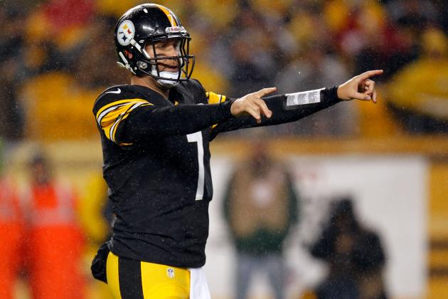 Big Ben Leaves Stadium for Shoulder Evaluation