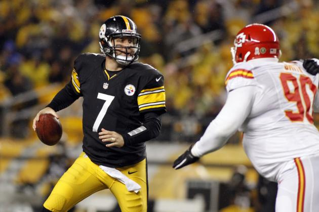 Steelers Survive, Beat Chiefs 16-13 in OT Despite Ben Roethlisberger Injury