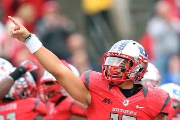 Rutgers' 28-7 Victory Over Army Sets Up Stretch Run for First-Ever Title