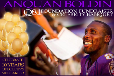 Baltimore Ravens: Anquan Boldin Charity Event at M&T Bank Stadium