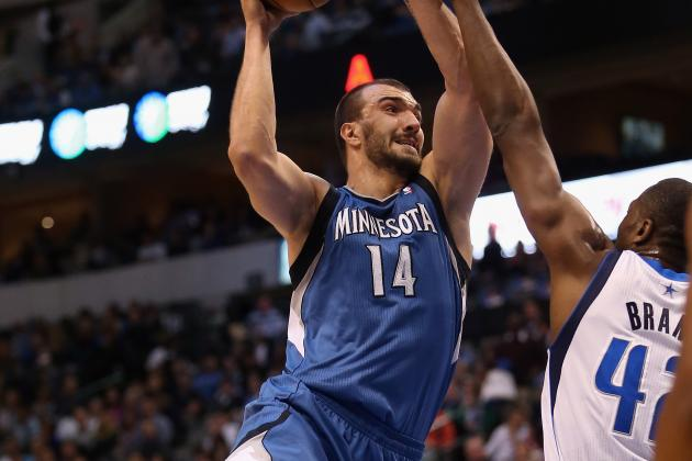 Short-Handed Timberwolves Lose Nikola Pekovic to Latest Injury