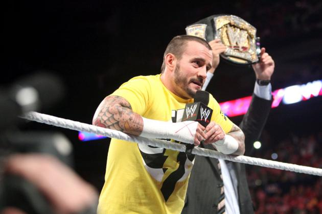 WWE Raw Results: CM Punk Draws Massive Heat, Just the Way He Likes It