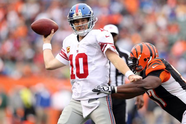 Breaking Down Where Eli Manning Needs to Sharpen Up over Bye Week