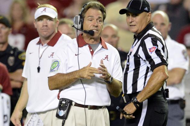 Alabama Football: Nick Saban's Process the Problem vs. Texas A&M