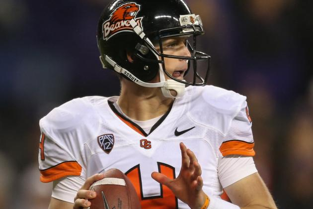 Mike Riley Won't Name a Starting QB, but Sean Mannion Gets Ready