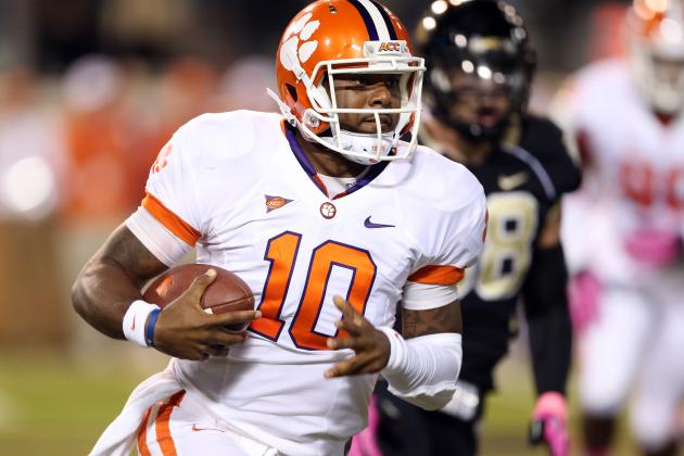 Tajh Boyd Gives as Well as He Receives as Clemson's Star QB