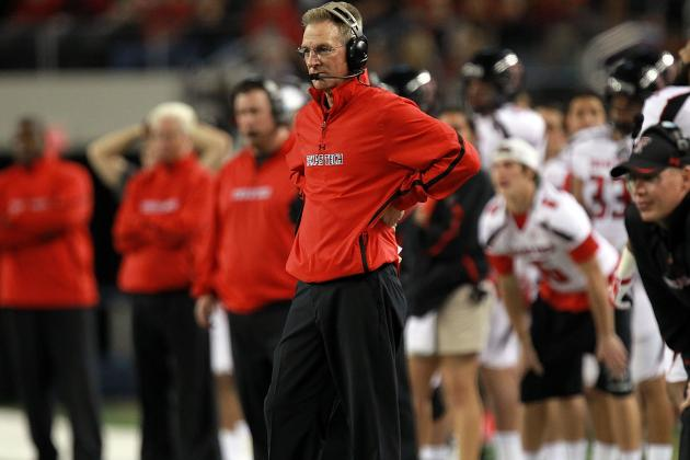 Texas Tech's Tuberville, WSU's Leach Face Heat