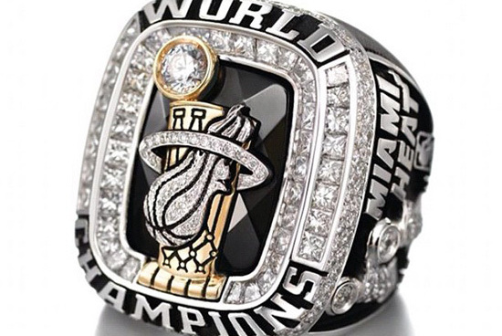 Heat Championship Ring Up for Bidding on EBay Two Weeks After Release