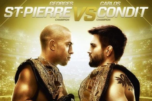 UFC 154: Fight Card, TV Info, Predictions and More for St-Pierre vs. Condit