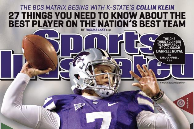Collin Klein on the Cover of This Week's Sports Illustrated