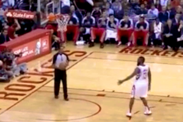 James Harden Fail: High-Fiving Yourself Isn't a Good Look