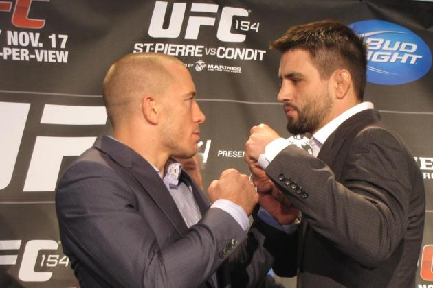 UFC 154 St-Pierre vs Condit: The Way It Should Be