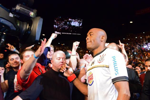 Silva Says He Won't Fight Again Until the End of 2013